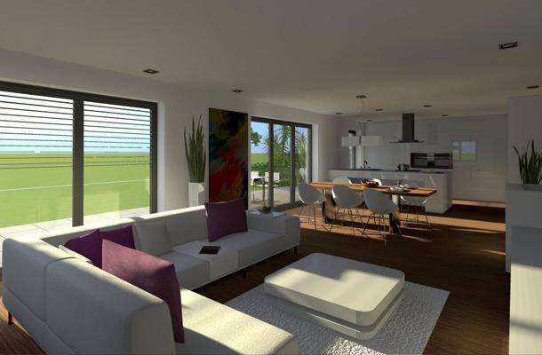 4 exklusive wohneinheiten im doppelhaus in wiesloch von. Black Bedroom Furniture Sets. Home Design Ideas